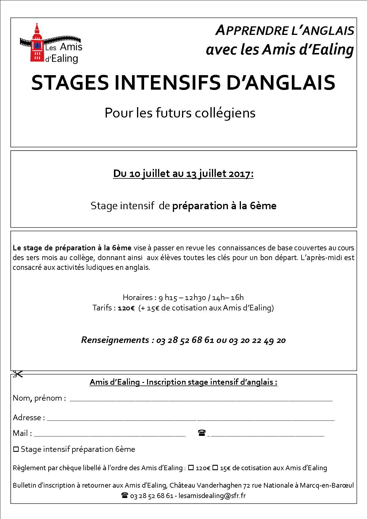 Assez stage Adolescents – Les Amis d'Ealing YH21